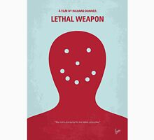 No327 My Lethal Weapon minimal movie poster Unisex T-Shirt