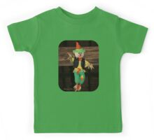 Lil' Scarecrow ~ Hanging in a Barn Kids Tee