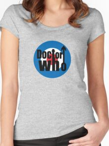 QUAD DOCTOR Women's Fitted Scoop T-Shirt