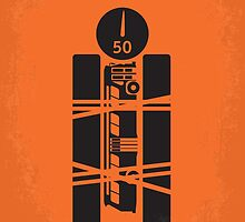 No330 My SPEED minimal movie poster by JinYong