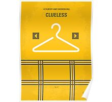 No331 My Clueless minimal movie poster Poster