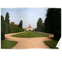 Manicured Grounds Poster