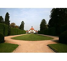 Manicured Grounds Photographic Print