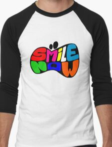 SMILE NOW Men's Baseball ¾ T-Shirt