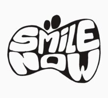 SMILE NOW BW T-Shirt