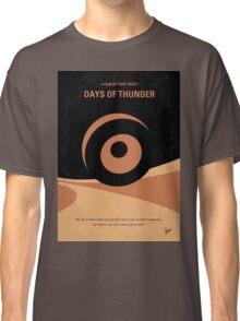 No332 My DAYS OF THUNDER minimal movie poster Classic T-Shirt