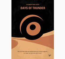 No332 My DAYS OF THUNDER minimal movie poster Unisex T-Shirt