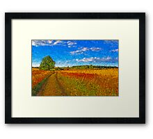 Round the Bend Framed Print