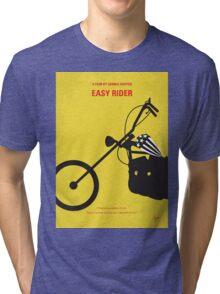 No333 My EASY RIDER minimal movie poster Tri-blend T-Shirt