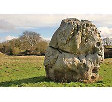 Standing Stone At Avebury Photographic Print