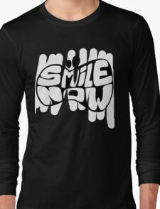 SMILE NOW BL Long Sleeve T-Shirt