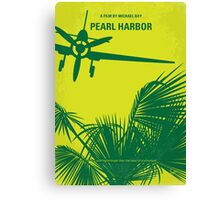 No335 My PEARL HARBOR minimal movie poster Canvas Print