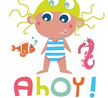 Ahoy little girl! by Johanna Fritz