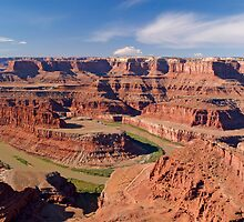 The Colorado at Dead Horse Point, Utah by Alex Cassels