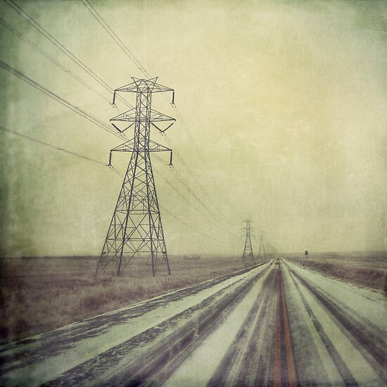 """Cold & Lonely Road to Nowhere"" by eleven12design"