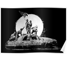 The Flag Banksy Poster