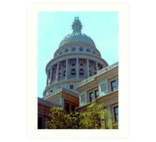 The State Capitol of Texas Art Print