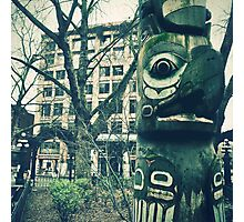 """Seattle Totem"" Photographic Print"