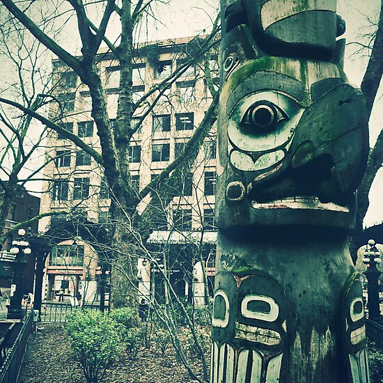 """""""Seattle Totem"""" by eleven12design"""