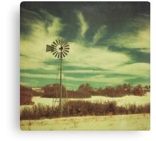 """Winter Winds"" Canvas Print"