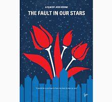 No340 My The Fault in Our Stars minimal movie poster Unisex T-Shirt