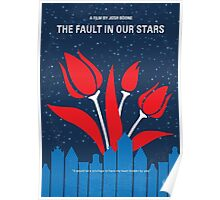 No340 My The Fault in Our Stars minimal movie poster Poster
