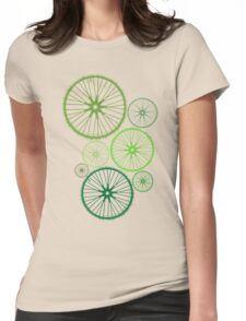 DRIVE GREEN Womens Fitted T-Shirt