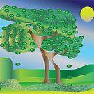 Trees by IrisGelbart