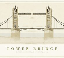 Tower Bridge London by Old-Lundenwic