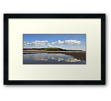 Bigbury Reflections Framed Print