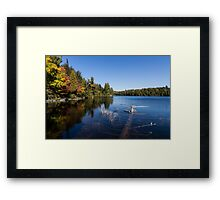 Of Fall and Fallen Giants Framed Print