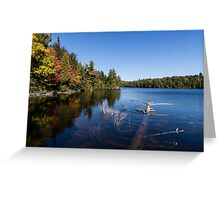 Of Fall and Fallen Giants Greeting Card