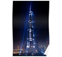 Burj Khalifa Highlighted Poster