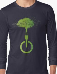 lights OFF life ON Long Sleeve T-Shirt