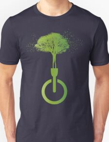 lights OFF life ON Unisex T-Shirt