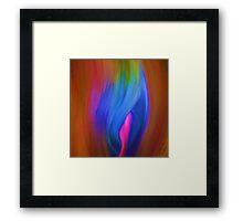 Abstract Rainbow Framed Print