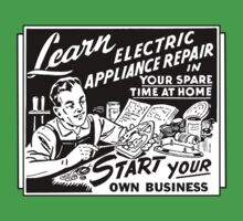 Vintage Ad - Learn Appliance Repair Kids Clothes