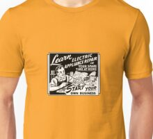 Vintage Ad - Learn Appliance Repair Unisex T-Shirt