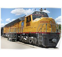 Union Pacific No. 6915... Poster