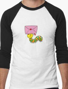 Love letter from caterpillar Men's Baseball ¾ T-Shirt