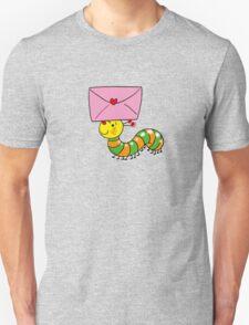 Love letter from caterpillar Unisex T-Shirt