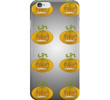 Scary jack o lantern. iPhone Case/Skin
