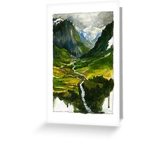 The Hidden Valley Greeting Card