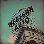 Western Auto Building - Kansas City, Missouri by Robert Baker