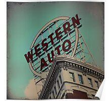 Western Auto Building - Kansas City, Missouri Poster