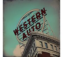 Western Auto Building - Kansas City, Missouri Photographic Print