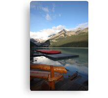 lake louise,canada Canvas Print