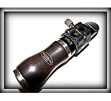 Clarinet Mouthpiece Assembly Photographic Print
