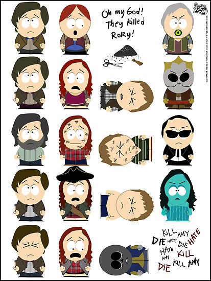 OMG they killed Rory! Posters! by zerobriant