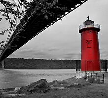 Little Red Lighthouse by rmc314